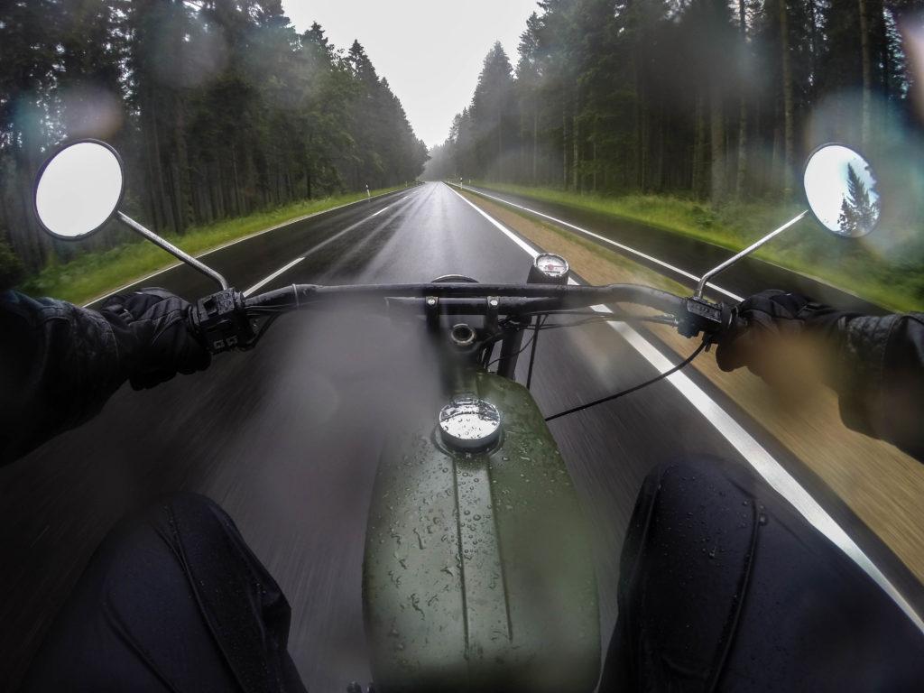 Simson S51 Roadtrip Mopedtour Eifel GoPro