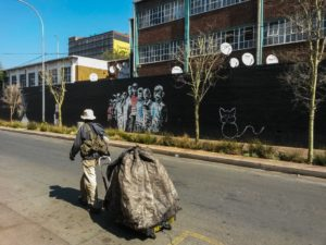 Street art in Maboneng