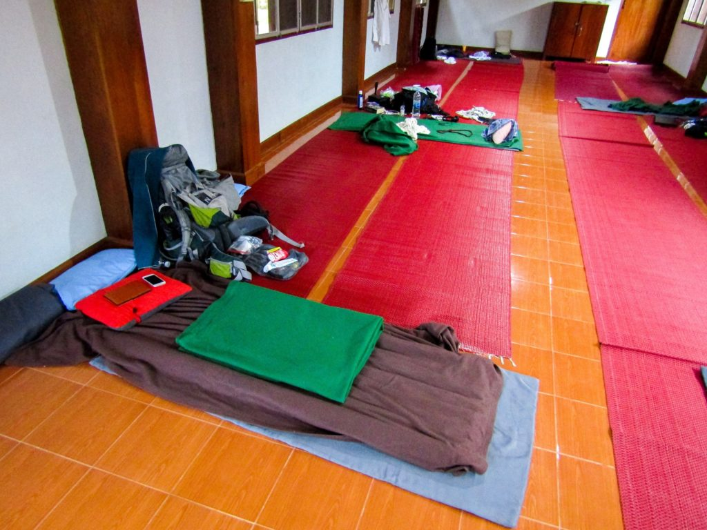 Wat Pa Tam Wua Unterkunft