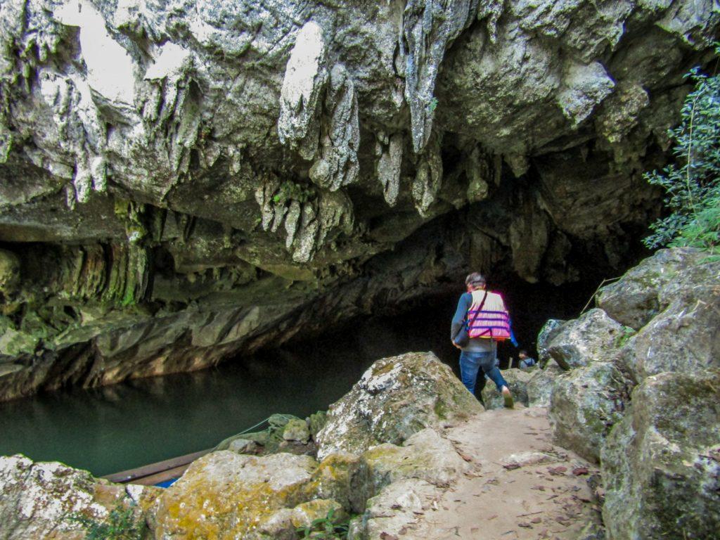 Thakhek loop Eingang Konglor Höhle