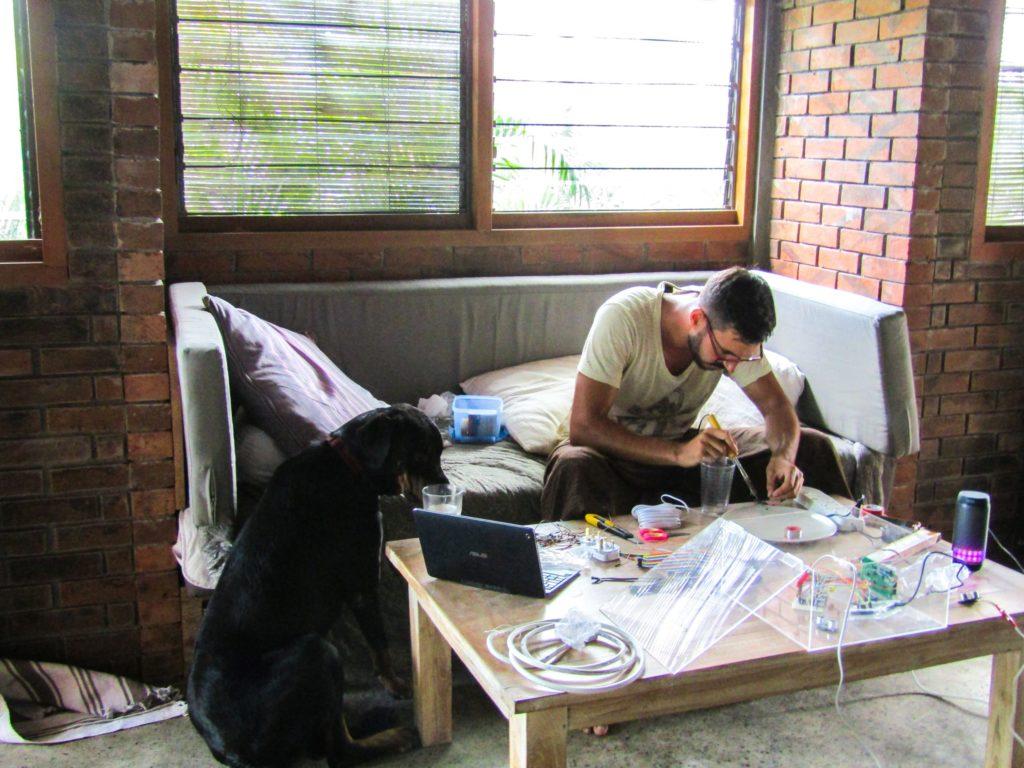 Wasserstandsmesser selber bauen löten