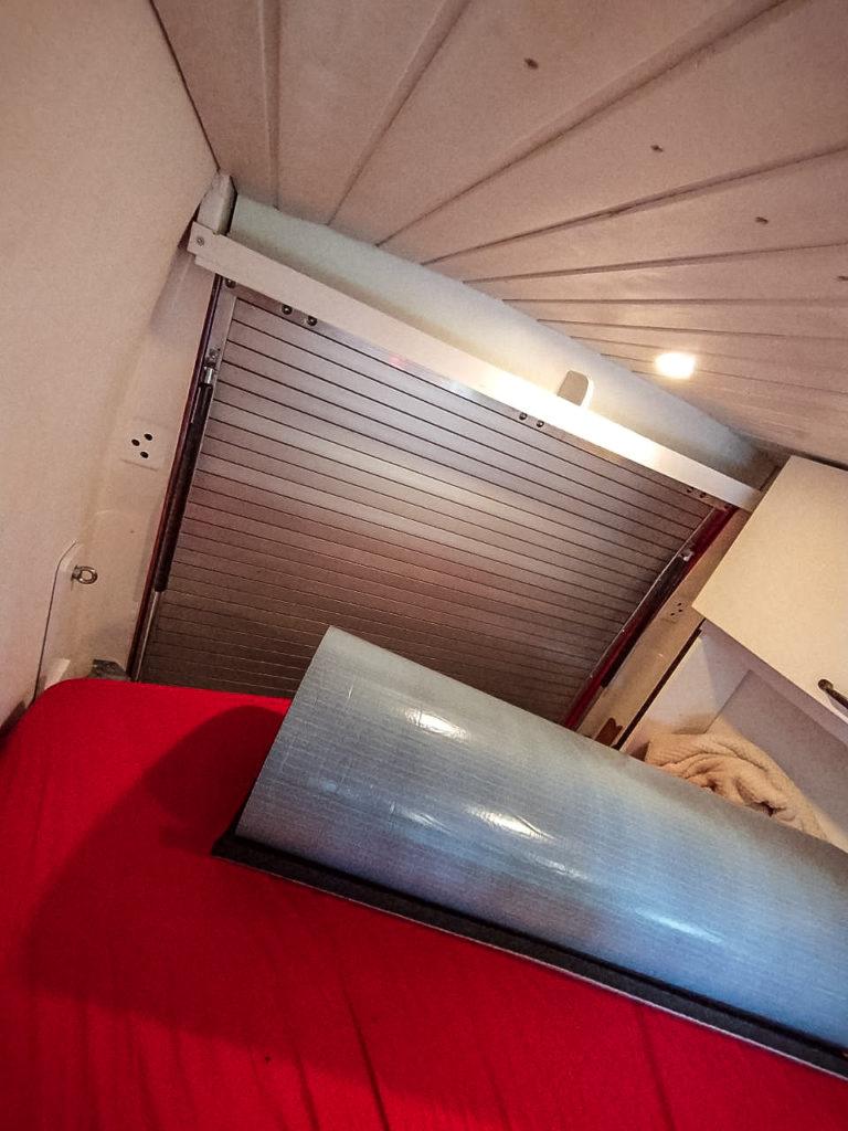 Rolltor Heckklappe Umbau